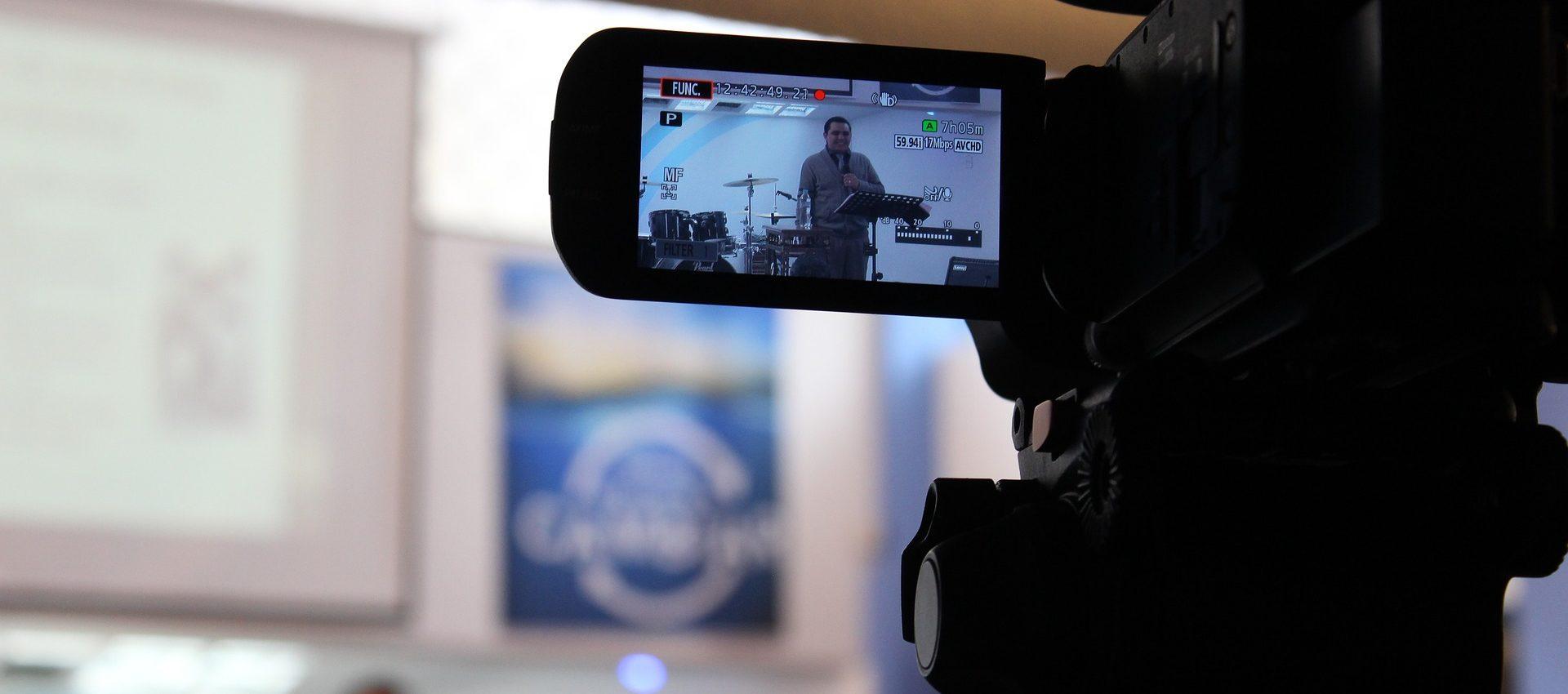 vídeo cámara