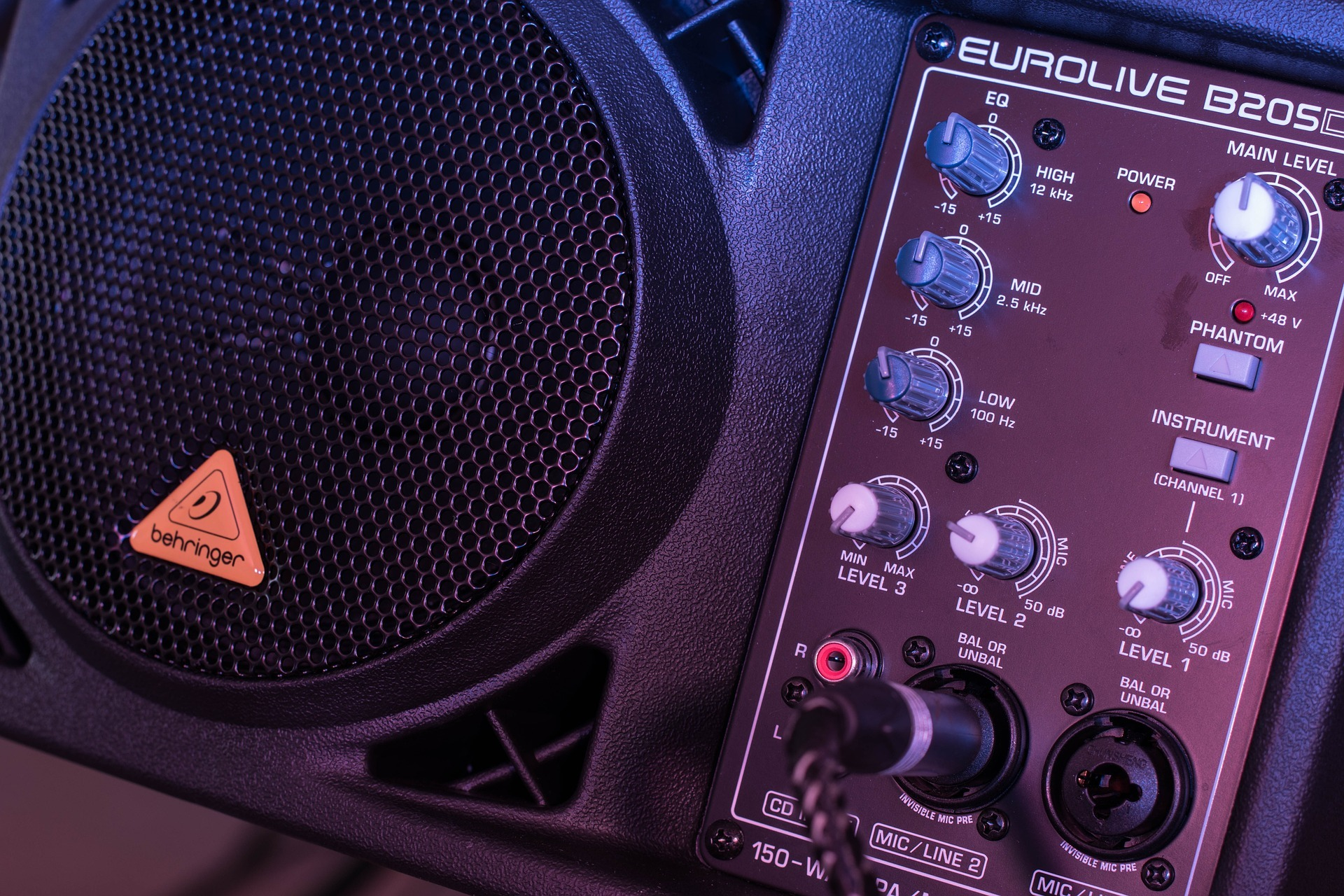 Monitor de sonido