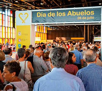 """Dia """"Internacional de Los Abuelos"""" Mensajeros de la Paz"""